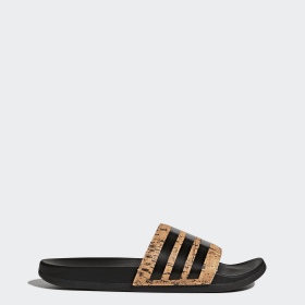 Adilette Cloudfoam Plus Cork Slides
