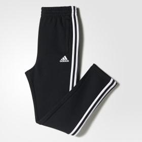 Essentials 3-Stripes Fleece Joggers