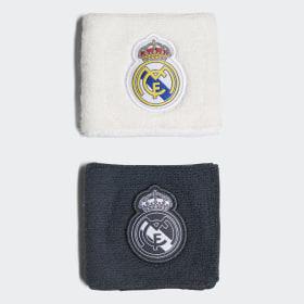 Muñequeras primera y segunda equipación Real Madrid