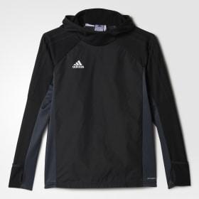 Tiro 17 Warm Kapuzensweatshirt