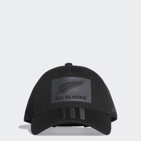All Blacks 3-Stripes Caps