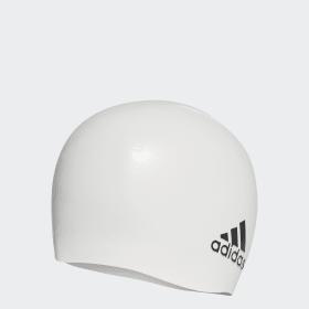 Gorra de natación de silicona adidas