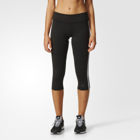 D2M Three-Quarter 3-Stripes Tights