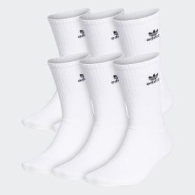 Trefoil Crew Socks 6 Pairs