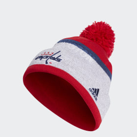 Capitals Team Cuffed Pom Beanie