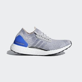 adidas - Ultraboost X Shoes Grey Two / Grey Two / Hi-Res Blue BB6155