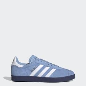 Blue adidas Gazelle Shoes   adidas UK