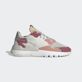 adidas - Nite Jogger Shoes Beige / Off White / Trace Pink DA8666