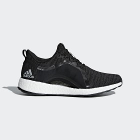 adidas - Pureboost X Shoes Black / Carbon / Silver Metallic / Core Black BY8928