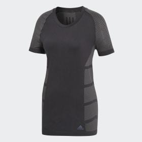 adidas - Camiseta Primeknit Cru Black / Grey Five CF6000