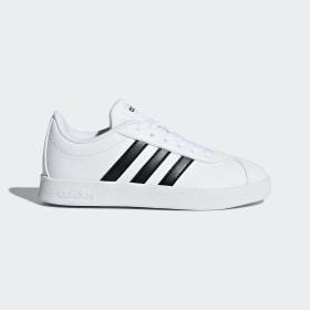 adidas - VL Court 2.0 Shoes Cloud White / Core Black / Cloud White DB1831