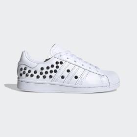 adidas - Obuv Superstar Cloud White / Core Black / Scarlet FV3344