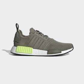adidas - NMD_R1 Shoes Trace Cargo / Trace Cargo / Solar Yellow BD7750