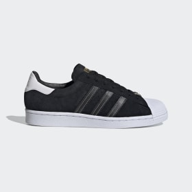adidas - Superstar Shoes Core Black / Core Black / Gold Metallic EH1543