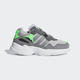 adidas - Yung-96 Shoes Grey Two / Grey Three / Shock Pink F34280