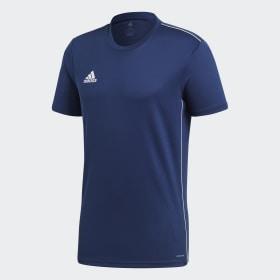 adidas - Camiseta entrenamiento Core 18 Dark Blue / White CV3450