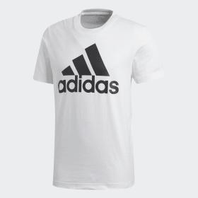 adidas - Essentials Linear T-Shirt White / Black CD4863