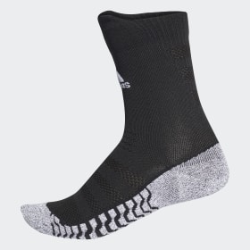 adidas - Alphaskin Traxion Ultralight Crew Socks Black / White CV7677