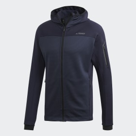 adidas - Stockhorn Hooded Jacket Legend Ink CY8700