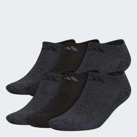Athletic No-Show Socks 6 Pairs