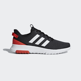 adidas - Cloudfoam Racer TR Shoes Core Black / Ftwr White / Hi-Res Red B43638