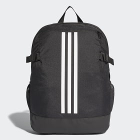 adidas - 3-Stripes Power Backpack Medium Black / White / White BR5864