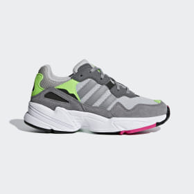adidas - Zapatilla Yung-96 Grey Two / Grey Three / Shock Pink DB2802