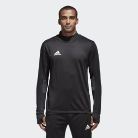 adidas - Tiro 17 Training Sweatshirt Black / Dark Grey / White BK0292