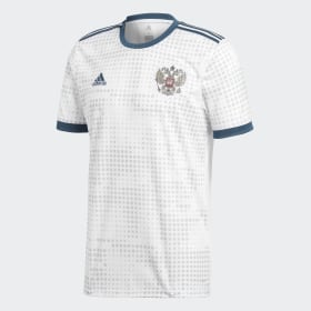 adidas - Russia Away Jersey White BR9067