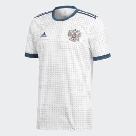 adidas - Camiseta segunda equipación Rusia White BR9067