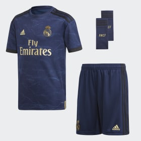 39d00b237d Minikit Alternativo do Real Madrid. Exclusivo. Criança Futebol