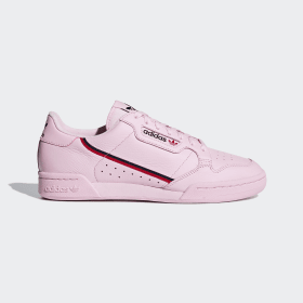 adidas - Continental 80 Shoes Clear Pink / Scarlet / Collegiate Navy B41679