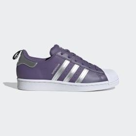 adidas - Obuv Superstar Tech Purple / Silver Metallic / Cloud White FV3631