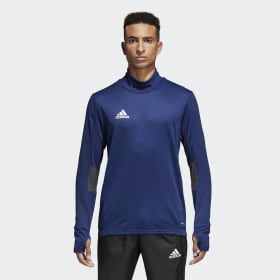 adidas - Tiro 17 Training Sweatshirt Dark Blue / Dark Grey / White BQ2751