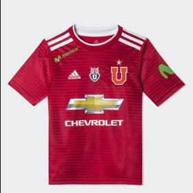 Camiseta Visitante UNIVERSIDAD DE CHILE Niño 2018 ... ed38330c7d162