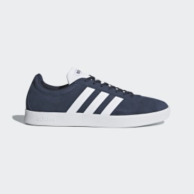 adidas - VL Court 2.0 Shoes Collegiate Navy / Cloud White / Cloud White DA9854