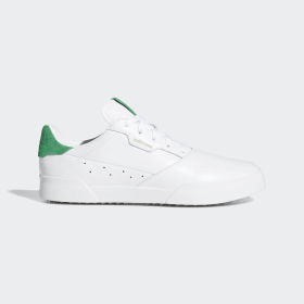 adidas - Scarpe da golf adicross Retro Cloud White / Green / Gum EF5636