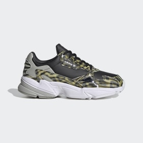 adidas - Falcon Shoes Core Black / Metal Grey / Cloud White FV3080