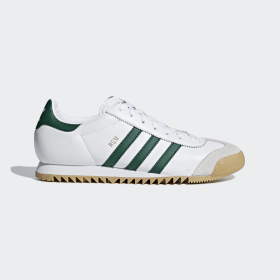 adidas - Rom Shoes Cloud White / Collegiate Green / Grey One CG5990