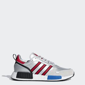 Silberne Schuhe Adidas De