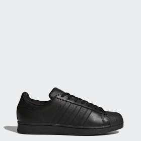 adidas superstar nere pitonate