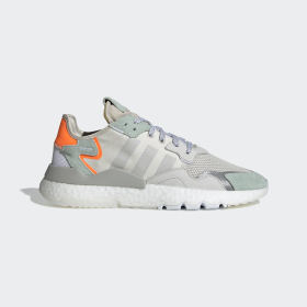 adidas - Nite Jogger Shoes Raw White / Grey One / Vapour Green BD7956