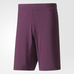 adidas - Pantalón corto Crazytrain Purple / Red Night BR9109