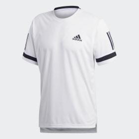 adidas - 3-Stripes Club T-Shirt White CE2032