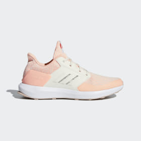 adidas - RapidaRun Knit Shoes Clear Orange / Cloud White / Ash Pearl AH2616