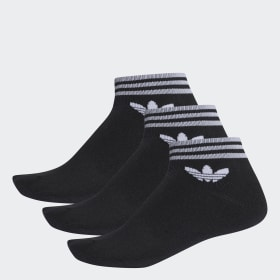 Meia Trf Ankle Stripes - 3 Pares