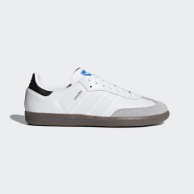 adidas - Samba OG Shoes Cloud White / Core Black / Clear Granite B42067