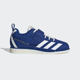 adidas - Powerlift 4 Shoes Collegiate Royal / Off White / Gold Metallic EG5176