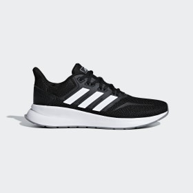 adidas - Runfalcon Shoes Core Black / Cloud White / Grey Three F36218