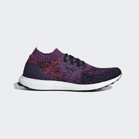 adidas - Ultraboost Uncaged Shoes Legend Purple / Active Blue / Shock Red D97404